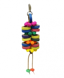 Double Bagel Blast by Made in the USA Bird Toys