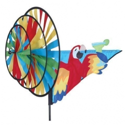 Macaw Triple Spinner 5 O'Clock Somewhere 33""