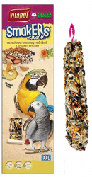 Smakers Nut Parrot XXL Treat Stick 2pk - A&E