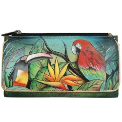 Anuschka Organizer Case/Wallet Tropical Bliss