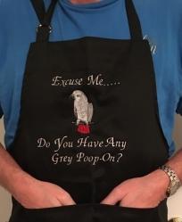 African Grey Apron