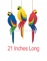 Jumbo Foam Parrot 21 inches