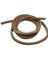 "Grooved Leather Laces  1/8"" x 48"" x 1/8"""