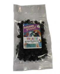 Golden Gourmet LARGE Dried Blueberries 4 OZ