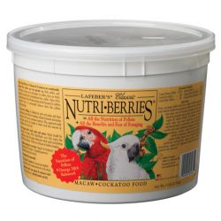 Lafebers Nutriberries Macaw 3.5 lb Tub