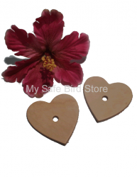 Leather Heart Medium 2 1/4""