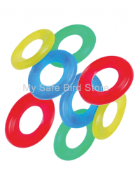 Mini Discs 8 Pack for Bird Toy Making