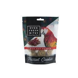 Oven Fresh Bites Parrot Cookies Red Hot Pepper 4oz