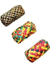 Planet Pleasures Woven Cylinder Foot Toy Large