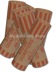 Quarter Coin Wrappers 10 Pack