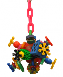 Fun Ball by Made in the USA Bird Toys