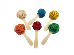 Java Wood Popsicle Stick Foot Toy