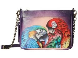 Anuschka Crossbody Rainforest Royalty