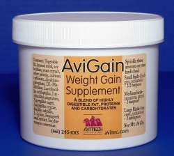Avitech AviGain Weight Additive Supplement 8 oz