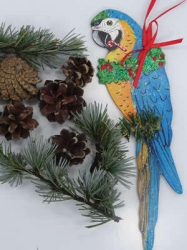 Blue & Gold Macaw Ornament