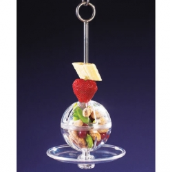 Hanging Buffet Ball Kabob by Creative Foraging
