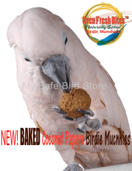 Baked Birdie Munchies Coconut Papaya 4 oz