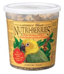 Lafebers Nutriberries Conure 12 oz  Tub