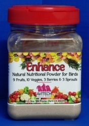 Avitech Enhance All Natural Powder Supplement 14oz