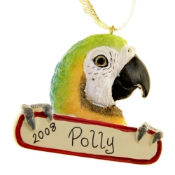 Macaw Ornament (Unpersonalized)