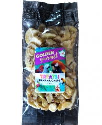 Golden Gourmet Banana Chips 3 oz
