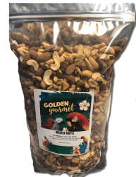 Golden Gourmet Mixed Nuts 4# Barrier Bag