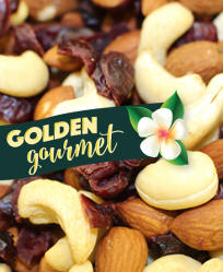Golden Gourmet Organic Fruit & Nut Blend 10# Bag