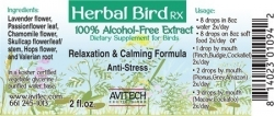 Relaxation/Calming Formula Herbal Extract 1 oz