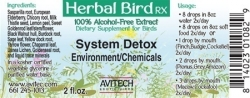 System Detox Herbal Extract 2 oz