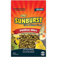 Higgins Sunburst Millet Bits 1 oz Bag