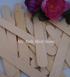 b97e084574 Y-WTP-JNCS100 Jumbo Natural Wood Craft Sticks 50 Pack - WOOD TOY PARTS