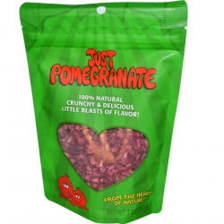 Just Tomatoes Pomegranates 2.5 ounce Pouch