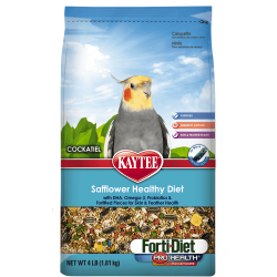 Kaytee Forti-Diet Pro Safflower Healthy Cockatiel