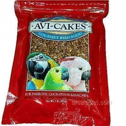 Lafeber's AviCakes Cockatoo/Macaw 1 lb