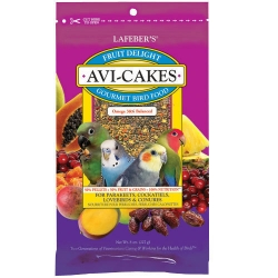 Lafeber's Fruit Avicakes Small 8 oz *NEW*