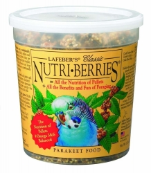 Lafebers Nutriberries Parakeet 12.5 oz. Tub