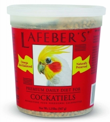 Lafebers Cockatiel Pellets 1.25 lb tub