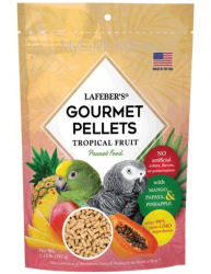 Lafebers Tropical Fruit Parrot Pellets 1.25#