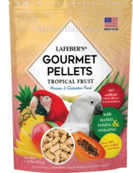 Lafebers Tropical Fruit Macaw Pellets 1.25
