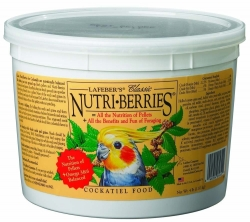 Lafebers Nutriberries Cockatiel 4 lb Tub