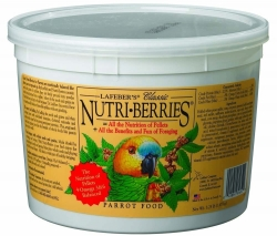 Lafebers Nutriberries Parrot 3.25  lb Tub
