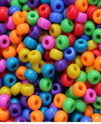 Pony Bead Large Assortment 50 Pack