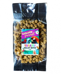 Golden Gourmet Millet Bites 2 oz Bag
