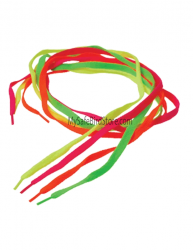 "Neon Shoe Laces 38"" 3 Pack"