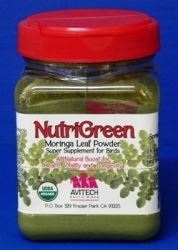 Avitech NutriGreen Moringa Leaf Powder 12 oz