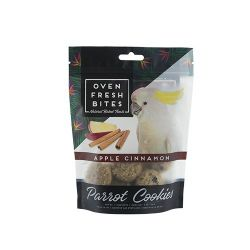 Oven Fresh Bites Parrot Cookies Apple Cinnamon 4oz
