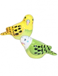 Parakeet Salt & Pepper Shakers