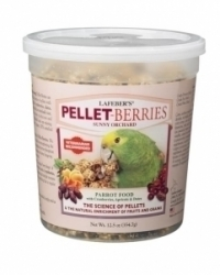 Lafebers Pellet Berries for Parrots 12.5 oz