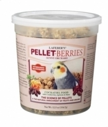 Lafebers Pellet Berries for Cockatiels 12.5 oz