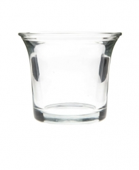 Clear Plastic Foraging Cup Drilled